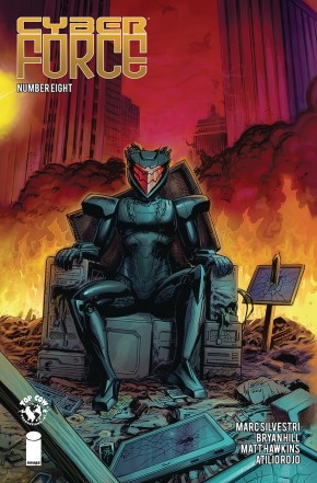 CYBER FORCE #8 (2018 SERIES)