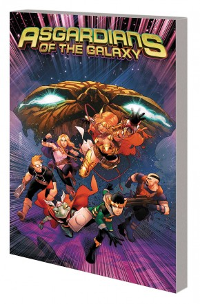 ASGARDIANS OF THE GALAXY VOLUME 2 WAR OF THE REALMS GRAPHIC NOVEL