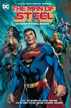 MAN OF STEEL BY BRIAN MICHAEL BENDIS GRAPHIC NOVEL