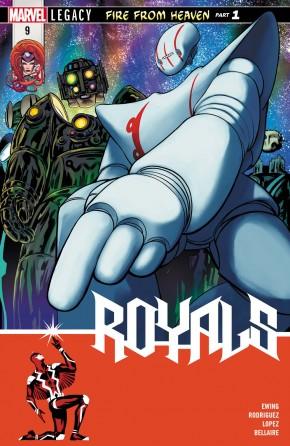 ROYALS #9 (2017 SERIES) LEGACY