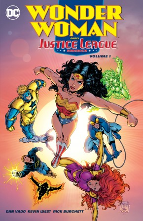 WONDER WOMAN AND THE JUSTICE LEAGUE AMERICA VOLUME 1 GRAPHIC NOVEL