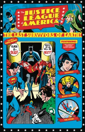 JUSTICE LEAGUE OF AMERICA THE LAST SURVIVORS OF EARTH GRAPHIC NOVEL