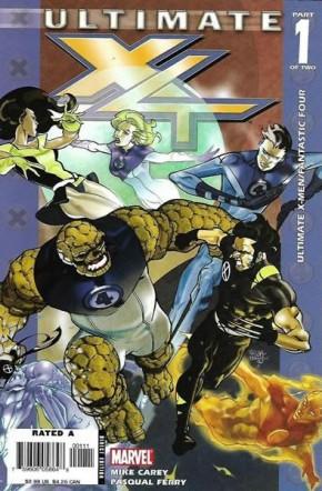 ULTIMATE X-MEN FANTASTIC FOUR #1