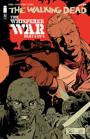WALKING DEAD #162 COVER A