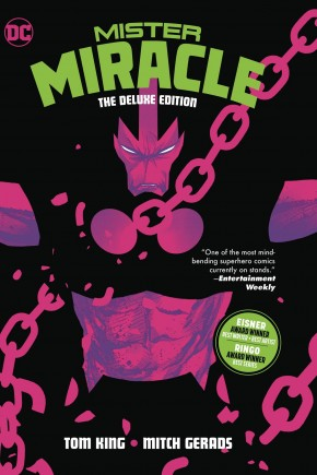 MISTER MIRACLE THE DELUXE EDITION HARDCOVER