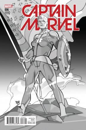 CAPTAIN MARVEL VOLUME 8 #6 CIVIL WAR REENACTMENT VARIANT COVER