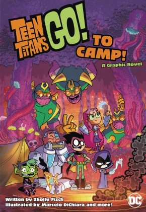 TEEN TITANS GO TO CAMP GRAPHIC NOVEL
