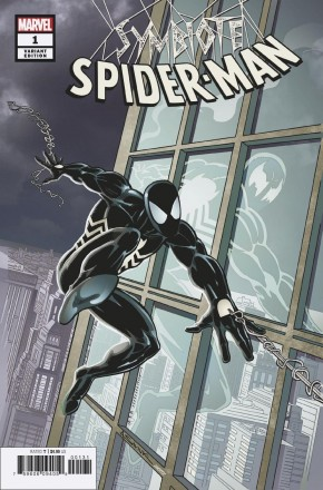 SYMBIOTE SPIDER-MAN #1 SAVIUK 1 IN 50 INCENTIVE VARIANT