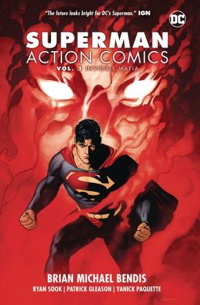 SUPERMAN ACTION COMICS VOLUME 1 INVISIBLE MAFIA GRAPHIC NOVEL