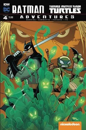 BATMAN TEENAGE MUTANT NINJA TURTLES ADVENTURES #4