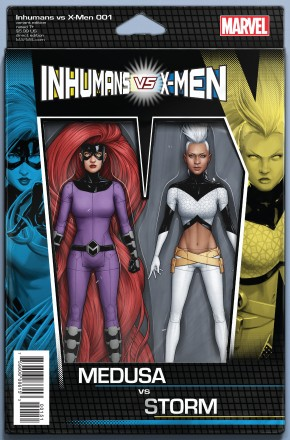 IVX #1 CHRISTOPHER ACTION FIGURE VARIANT COVER