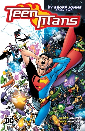 TEEN TITANS BY GEOFF JOHNS BOOK 2 GRAPHIC NOVEL