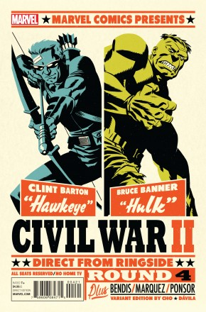 CIVIL WAR II #4 MICHAEL CHO VARIANT COVER