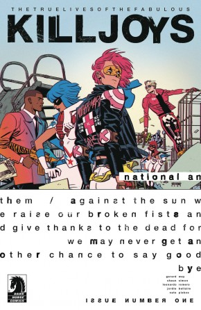 TRUE LIVES OF THE FABULOUS KILLJOYS NATIONAL ANTHEM #1