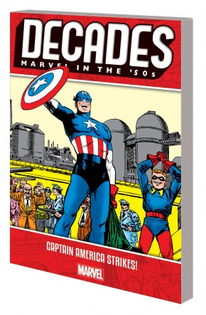 DECADES MARVEL IN THE 50S CAPTAIN AMERICA STRIKES GRAPHIC NOVEL