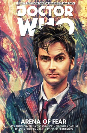 DOCTOR WHO 10TH DOCTOR VOLUME 5 ARENA OF FEAR GRAPHIC NOVEL