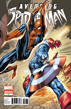 AVENGING SPIDER-MAN #1 (2011 SERIES) J. SCOTT CAMPBELL 1 IN 100 INCENTIVE