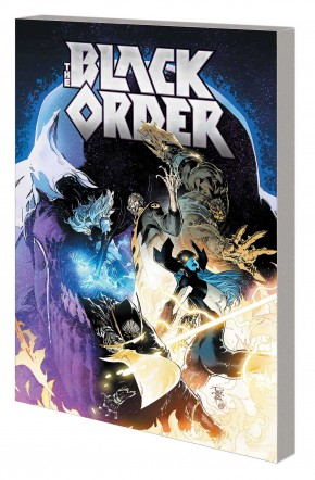 BLACK ORDER THE WARMASTERS OF THANOS GRAPHIC NOVEL