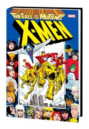 X-MEN FALL OF THE MUTANTS OMNIBUS HARDCOVER BRET BLEVINS DM VARIANT COVER