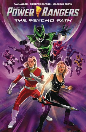 POWER RANGERS PSYCHO PATH ORIGINAL GRAPHIC NOVEL