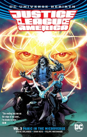 JUSTICE LEAGUE OF AMERICA VOLUME 3 PANIC MICROVERSE REBIRTH GRAPHIC NOVEL