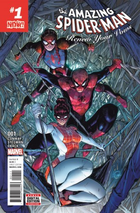 AMAZING SPIDER-MAN RENEW YOUR VOWS #1 (2016 SERIES)