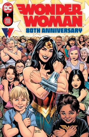 WONDER WOMAN 80TH ANNIVERSARY 100-PAGE SUPER SPECTACULAR #1 COVER A YANICK PAQUETTE