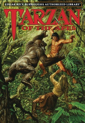 EDGAR RICE BURROUGHS AUTHORIZED LIBRARY EDITION TARZAN VOLUME 1 TARZAN OF THE APES HARDCOVER