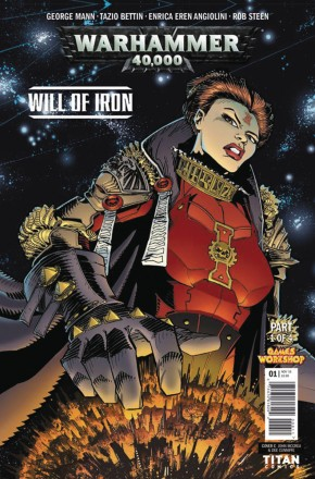 WARHAMMER 40000 WILL OF IRON #1 (COVER B)