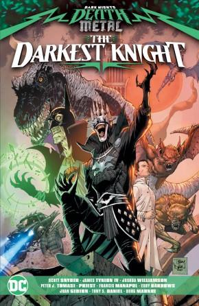 DARK KNIGHTS DEATH METAL THE DARKEST KNIGHT GRAPHIC NOVEL