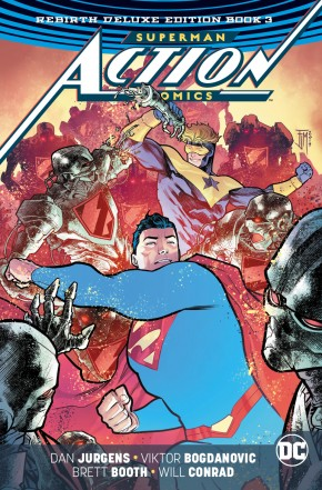 SUPERMAN ACTION COMICS REBIRTH DELUXE COLLECTION BOOK 3 HARDCOVER