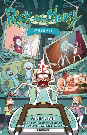 RICK AND MORTY PRESENTS VOLUME 2 GRAPHIC NOVEL