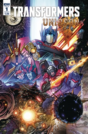 TRANSFORMERS UNICRON #1 (COVER A)
