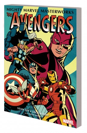 MIGHTY MARVEL MASTERWORKS AVENGERS THE COMING OF THE AVENGERS VOLUME 1 CHO COVER