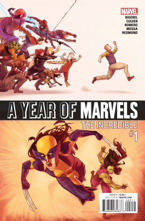 YEAR OF MARVELS INCREDIBLE #1