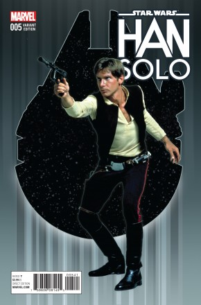 STAR WARS HAN SOLO #5 MOVIE 1 IN 15 INCENTIVE VARIANT COVER