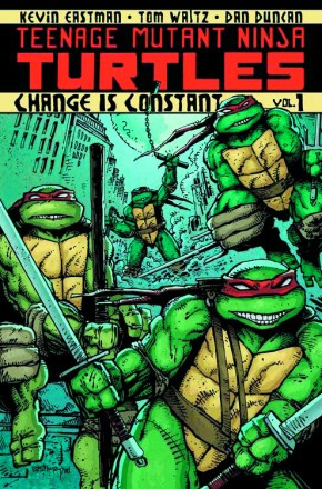 TEENAGE MUTANT NINJA TURTLES VOLUME 1 CHANGE IS CONSTANT GRAPHIC NOVEL