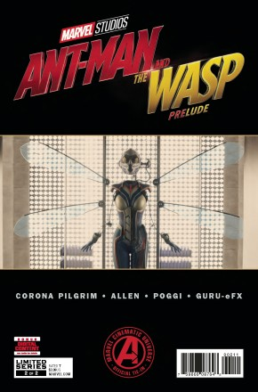 MARVELS ANT-MAN AND WASP PRELUDE #2