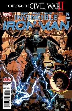 INVINCIBLE IRON MAN #9 DEODATO 2ND PRINTING