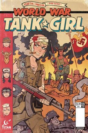 TANK GIRL WORLD WAR TANK GIRL #2