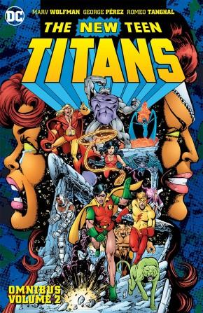 NEW TEEN TITANS OMNIBUS VOLUME 2 HARDCOVER
