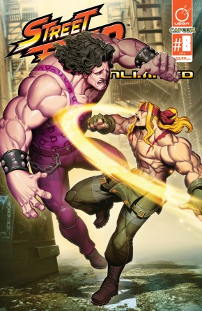 STREET FIGHTER UNLIMITED #8 COVER A
