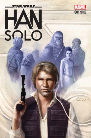 STAR WARS HAN SOLO #4 FAGAN 1 IN 25 INCENTIVE VARIANT COVER