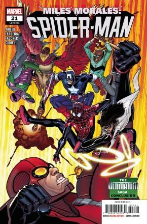 MILES MORALES SPIDER-MAN #21 (2018 SERIES)