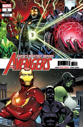 AVENGERS #3 (2018 SERIES) 3RD PRINTING