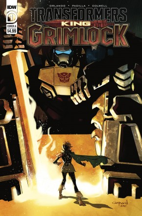 TRANSFORMERS KING GRIMLOCK #1 COVER A