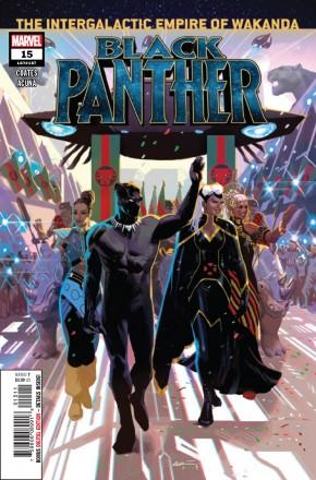 BLACK PANTHER #15 (2018 SERIES)