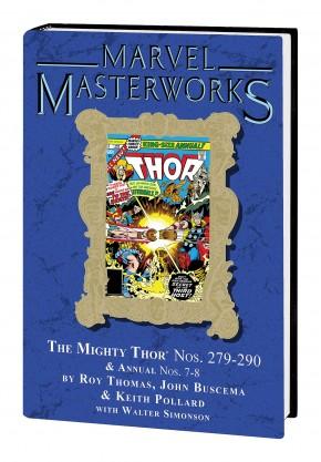 MARVEL MASTERWORKS THOR VOLUME 18 DM VARIANT #280 EDITION HARDCOVER