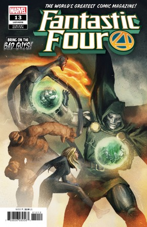 FANTASTIC FOUR #13 (2018 SERIES) PAREL BRING ON THE BAD GUYS VARIANT