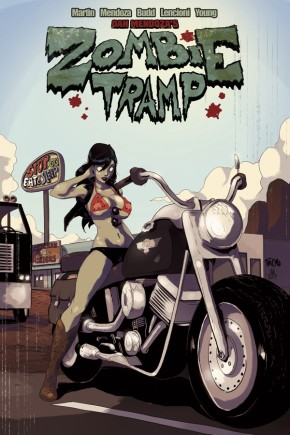 ZOMBIE TRAMP VOLUME 4 SLEAZY RIDER GRAPHIC NOVEL